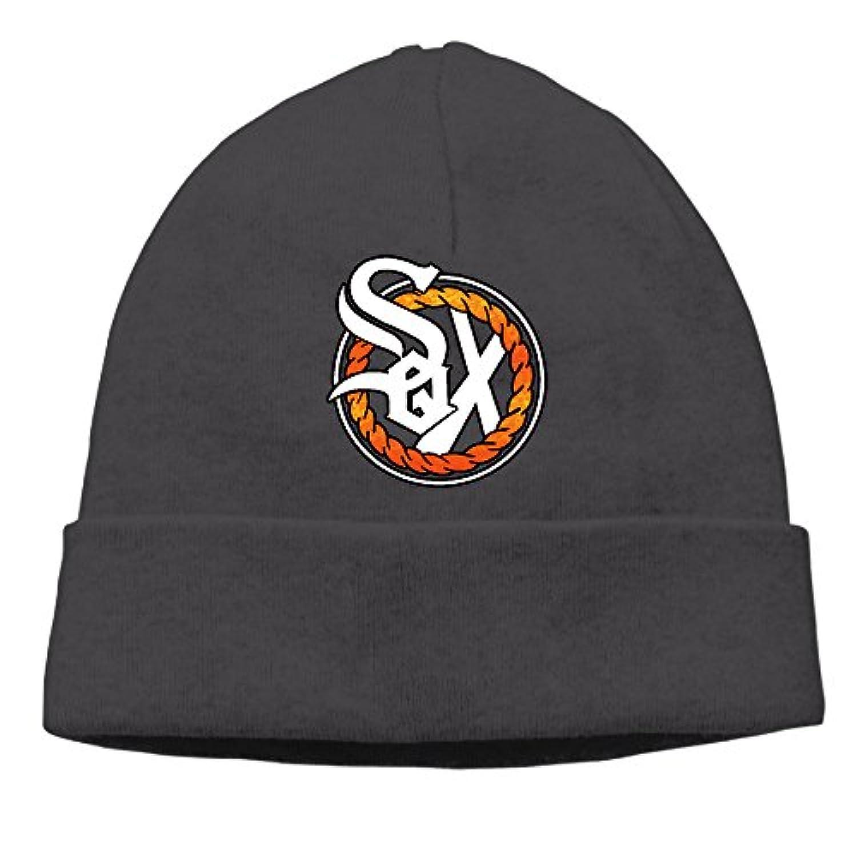 ニット帽 SOX シャイソックス チャンスザラッパー 男女兼用 コットン 帽子 キャップ ウォッチキャップ 柔らか ソフト フリーサイズ Black