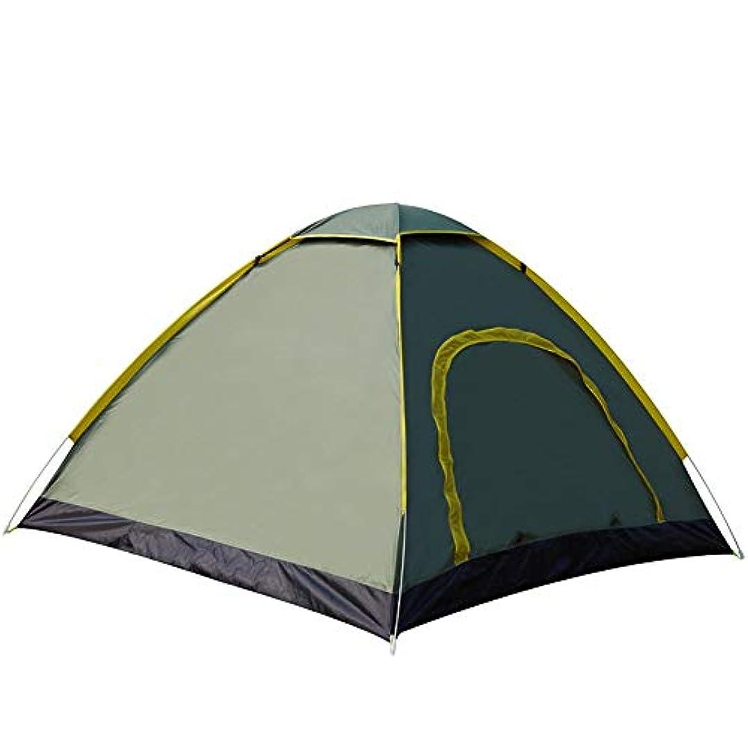 鉛筆マイク幻滅する自動速度投げる屋外の両開きドアの携帯用キャンプ3-4人のキャンプテント (色 : アーミーグリーン, サイズ さいず : 3-4 people)