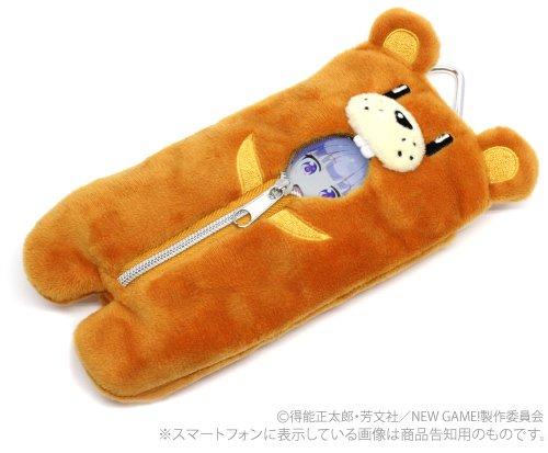 NEW GAME!(アニメ) クマさん寝...