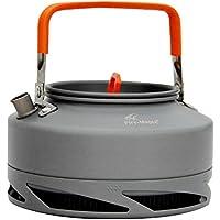Fire-maple ポータブル陽極酸化アルミニウム熱交換器ケトルティーコーヒーポット屋外キャンプ用ピクニック調理器具ドローストリングメッシュバッグ1.5L FMC-XT2 / 0.8L FMC-XT1