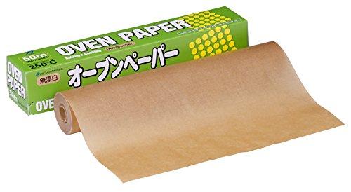オーブンペーパー 30cm×50m (無漂白)