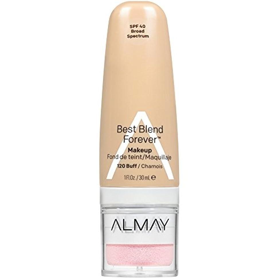 公平掘る割り当てBest Blend Forever Makeup SPF 40-120 Buff