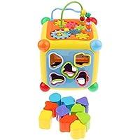 Baoblaze 赤ちゃん 型あわせ おもちゃ ボックス 立体パズル 図形認知 知育玩具