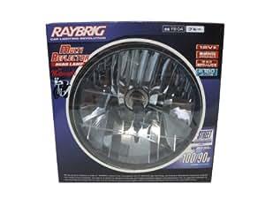 RAYBRIG [レイブリック] マルチリフクター ヘッドランプ フォーモーターサイクル [丸型] ブルー [1個入り] 100/90W [品番] FB04