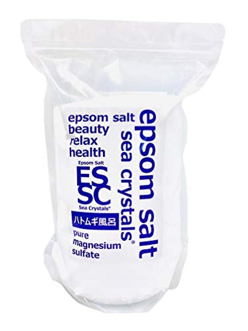 事故火メロン【Amazon.co.jp限定】 Sea Crystals(シークリスタルス) ハトムギ風呂 入浴剤 White 2.2kg