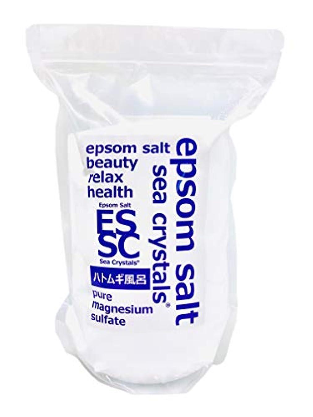 気候の山怠けた必要【Amazon.co.jp限定】 Sea Crystals(シークリスタルス) ハトムギ風呂 入浴剤 White 2.2kg
