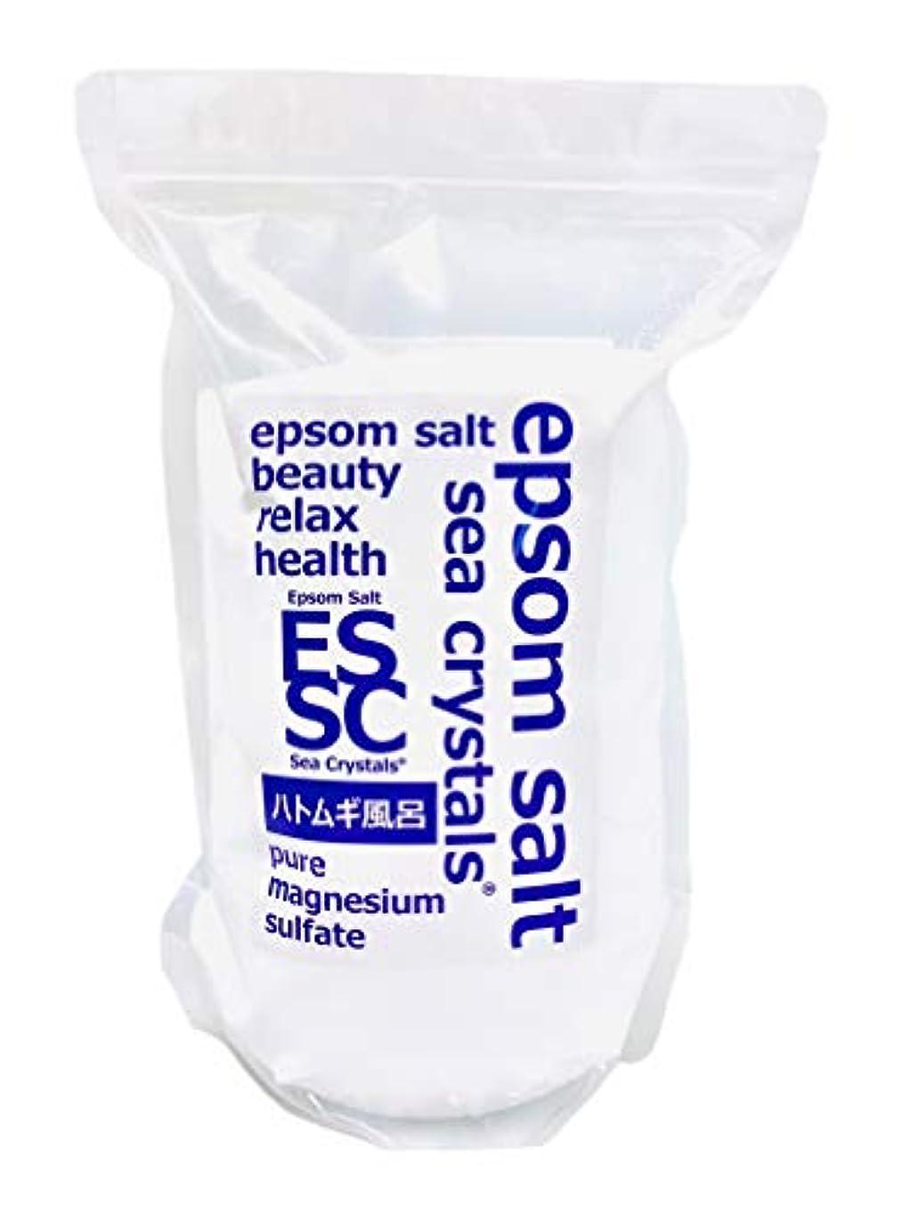 テロリストピーブ算術【Amazon.co.jp限定】 Sea Crystals(シークリスタルス) ハトムギ風呂 入浴剤 White 2.2kg