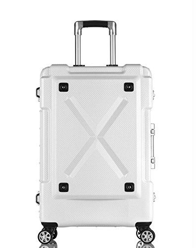 [レジェンドウォーカー] legend walker スーツケース 多機能付きアウトドア型キャリーケース Mサイズ 6302-62 WH (ホワイト)