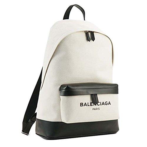 バレンシアガ バッグ リュック・バックパック BALENCIAGA 392007 BACKPACK 9260 NATUREL/NOIR AQ3AN 並行輸入品