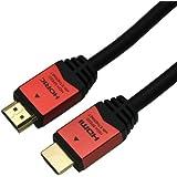 HORIC ハイスピードHDMIケーブル 1.5m レッド 4K/60p 3D HEC ARC リンク機能 HDM15-894RD