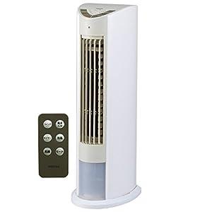 山善(YAMAZEN) 冷風扇 (リモコン)(風量3段階) タイマー付 ホワイトベージュ FCR-D402(WC)