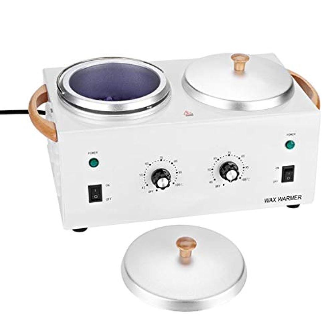 提案保護するハードダブルワックスヒーター、ワックスウォーマー美容機ダブル鍋専門サロン装置、ヒーター脱毛機ツール