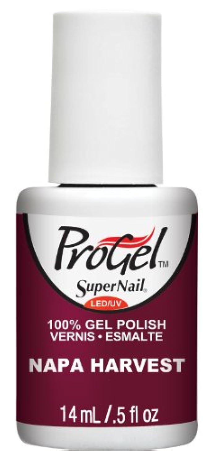 思いつく王朝サーバSuperNail ProGel Gel Polish - Napa Harvest - 0.5oz / 14ml