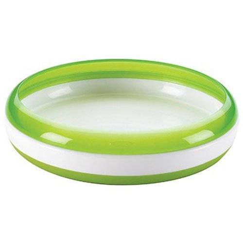 オクソー OXO Tot トレーニングプレート グリーン ベビー食器 離乳食 すくいやすい 平皿 FDOX6104900