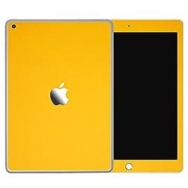 [全31色] wraplus for iPad mini5 第5世代 2019 [イエロー] スキンシール 前面 背面 カバー フィルム