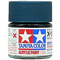 タミヤカラー アクリルミニ X-13 メタリックブルー 光沢