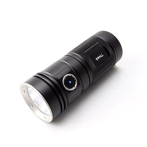 ThruNite TN4A LED フラッシュライト CREE XP-L V6 LED搭載 単3アルカリ乾電池×4本使用 明るさMAX1150ルーメン 4段階明るさ切替機能+Turboモード+Strobe TN4A CW Cool White