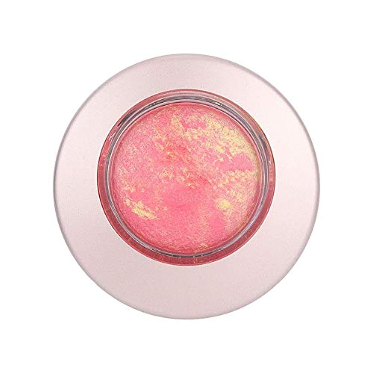 開拓者広告ベル10g 長続きがする 単一色のほお紅の保湿の明るくなる赤面の粉の表面構造(808)