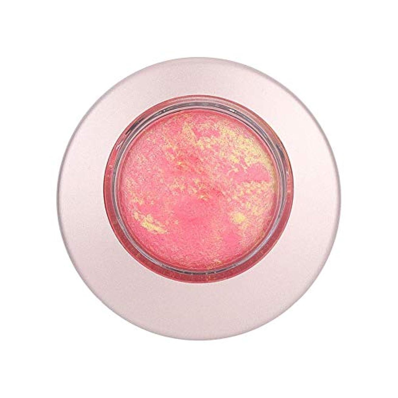 小屋ギャンブルプラットフォーム10g 長続きがする 単一色のほお紅の保湿の明るくなる赤面の粉の表面構造(808)