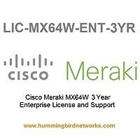 Meraki MX64W Enterprise Meraki License 3 Year LIC-MX64W-ENT-3YR [並行輸入品]