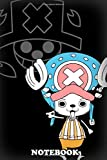 """Notebook: Chopper From The Animemanga One Piece , Journal for Writing, College Ruled Size 6"""" x 9"""", 110 Pages"""