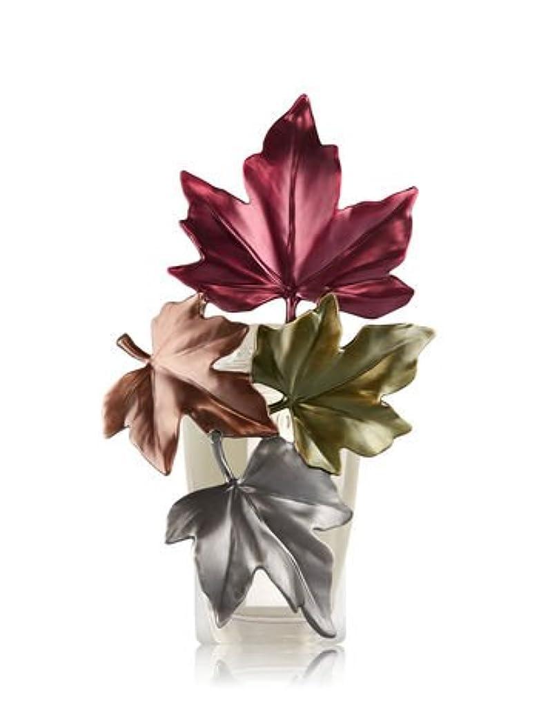 ボウル弾性落胆した【Bath&Body Works/バス&ボディワークス】 ルームフレグランス プラグインスターター (本体のみ) ラージフォールリーブスナイトライト Wallflowers Fragrance Large Fall Leaves...