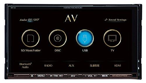 [三菱/MITSUBISHI] フルセグ・ワンセグ対応地上デジタルチューナー(1seg+12seg)内蔵7V型WVGAモニター/DVD/CD対応(Bluetooth内蔵) DIATONE SOUND. NAVI 【品番】 NR-MZ200PREMI