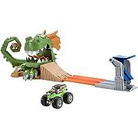 Hot Wheels Monster Jam Dragon Arena Attack Playset [並行輸入品]