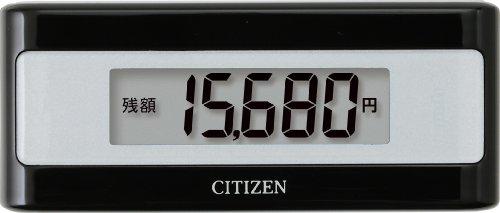 シチズン(CITIZEN) 電子マネービューアー付き歩数計 ブ...
