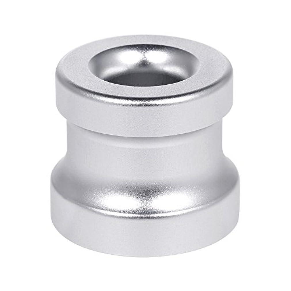 無限落花生シーンDecdeal シェービングカミソリスタンド ホルダー アルミニウム合金 安全カミソリベース シェービングカミソリアクセサリー 1Pc