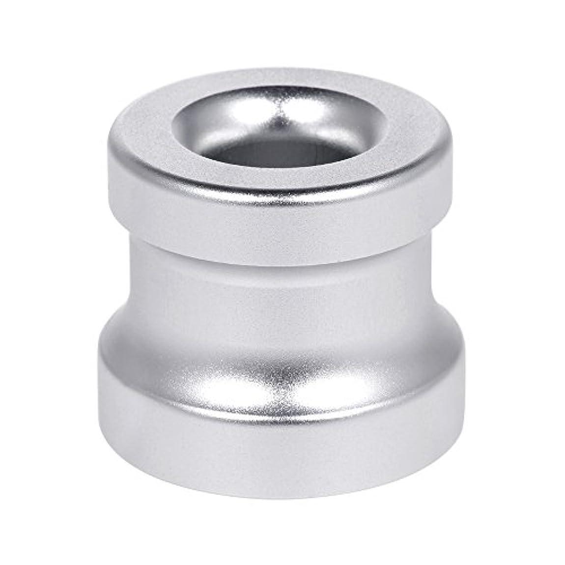 転倒現れる物質Decdeal シェービングカミソリスタンド ホルダー アルミニウム合金 安全カミソリベース シェービングカミソリアクセサリー 1Pc