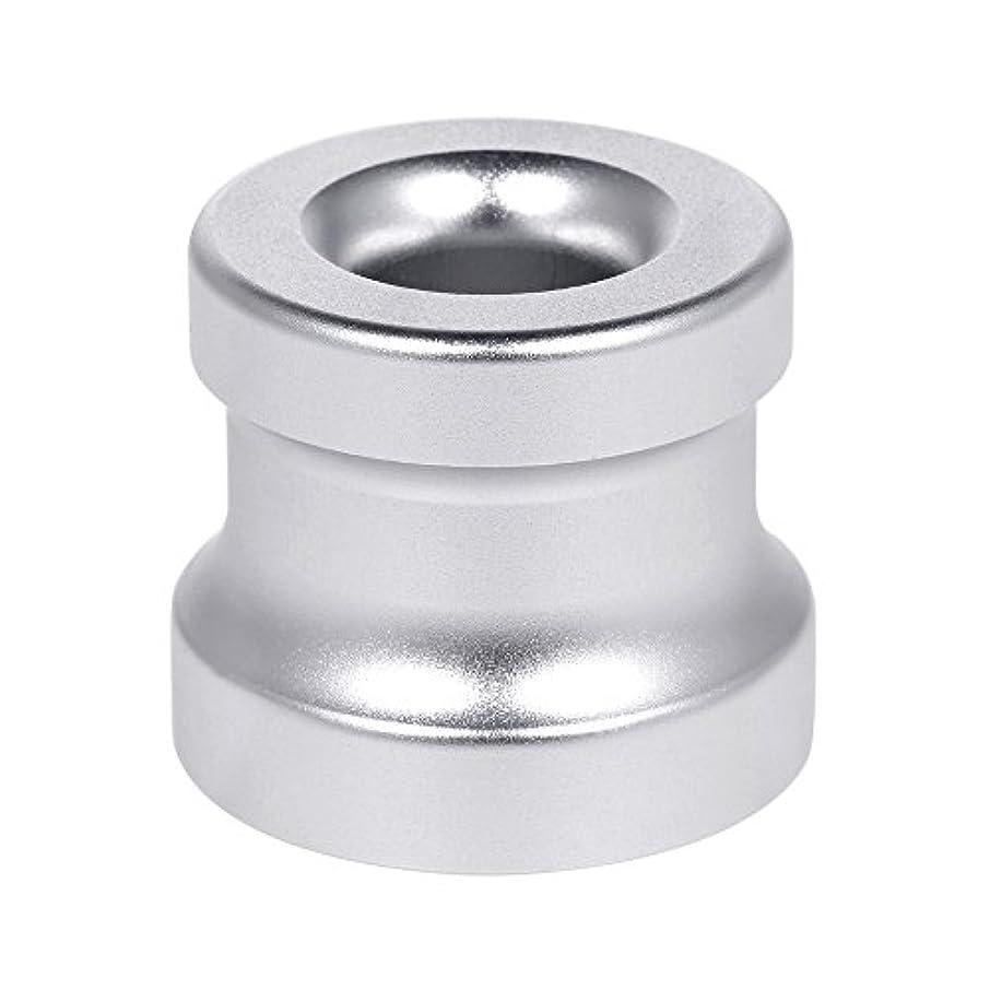Decdeal シェービングカミソリスタンド ホルダー アルミニウム合金 安全カミソリベース シェービングカミソリアクセサリー 1Pc