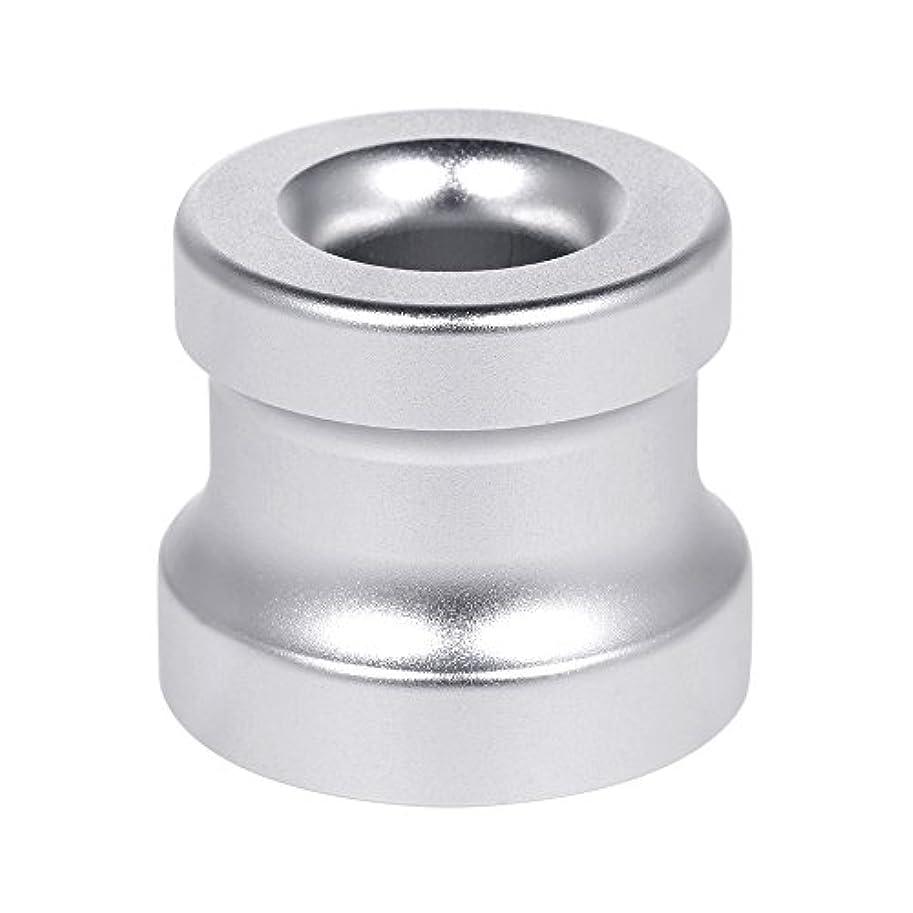 人気利益不振Decdeal シェービングカミソリスタンド ホルダー アルミニウム合金 安全カミソリベース シェービングカミソリアクセサリー 1Pc