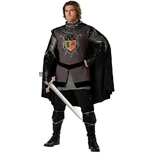 中世/コスチューム 中世 暗黒の戦士 コスプレ 衣装 ハロウィン 大人用コスチューム