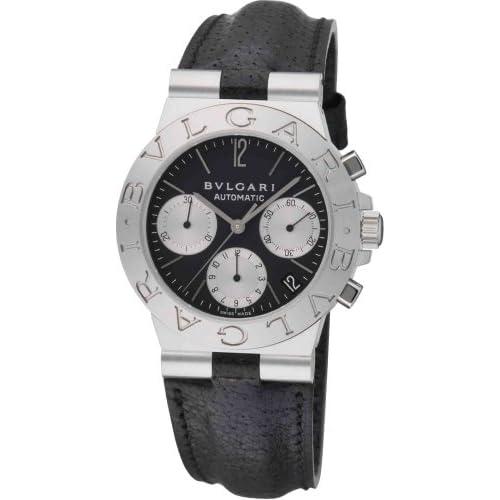 [ブルガリ]BVLGARI 腕時計 CH35BSLD AUTO ディアゴノ クロノグラフ ブラック メンズ [並行輸入品]