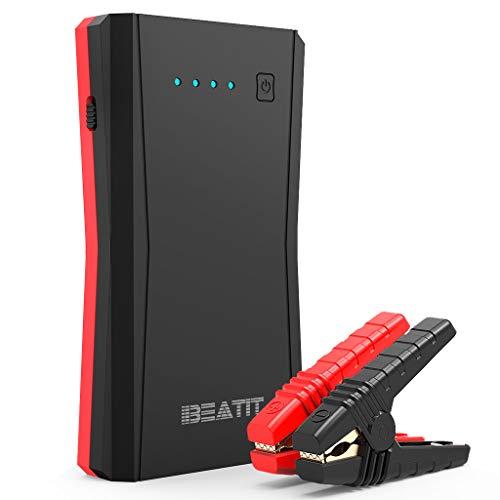 Beatit B10PRO ジャンプスターター 大容量 12V 車用エンジンスターター 最大電流800A QDSP技術 最大7.2Lガソリン車 5.5ディーゼル車に対応 Type-Cポート搭載 モバイルバッテリー ポータブル充電器 防災グッズ スマホ急速充