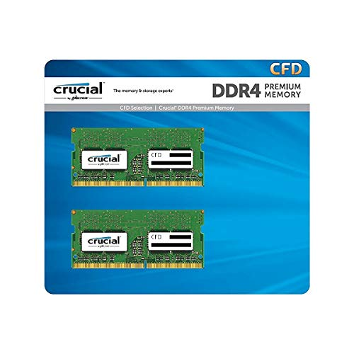 CFD販売 ノートPC用メモリ PC4-21300(DDR4-2666) 16GB×2枚 260pin (無期限保証)(Crucial by Micron) W4N2666CM-16GB