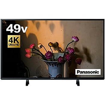 パナソニック 49V型 液晶テレビ ビエラ TH-49FX600 4K   2018年モデル