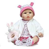 リアルなシリコンRebornベビー人形ソフトビニールReal Born 22インチ人形子供磁気おしゃぶりおもちゃギフト