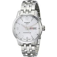 [ティソ] TISSOT 腕時計 PRC 200 オートマティック パワーマティック80 ホワイト文字盤 ブレスレット T0554301101700 メンズ 【正規輸入品】