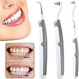 Six-Bullotime 歯用ツール 電動 歯清潔 歯の消しゴム 多機能の電動のLED歯科用ツールキットオーラルケア 歯間クリーナー 歯磨き 歯石取り 口腔洗浄器 口臭防止