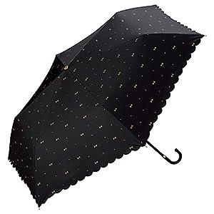 w.p.c 日傘折傘 ブラック 50cm(親骨) 801-945