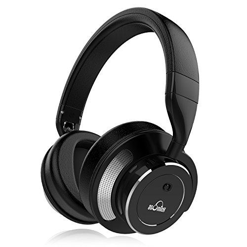 iDeaUSA ノイズキャンセリングヘッドホン Bluetooth4.1 Bluetoothヘッドホン ワイヤレスヘッドホン 高音質/遮音性/密閉型/オーバータイプ/内蔵マイク/ハンズフリー通話