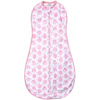 Woombie Convertible Baby Swaddle ~ Pink Owls, Size Mega 20-25 lbs by Woombie