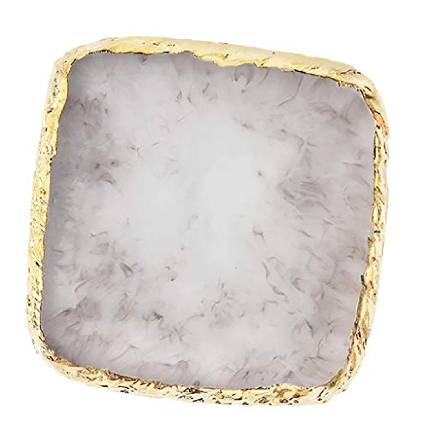 エゴイズム警報レオナルドダIPOTCH ネイルアート カラーブレンド ミキシングパレット 樹脂製 6色選べ - グレー