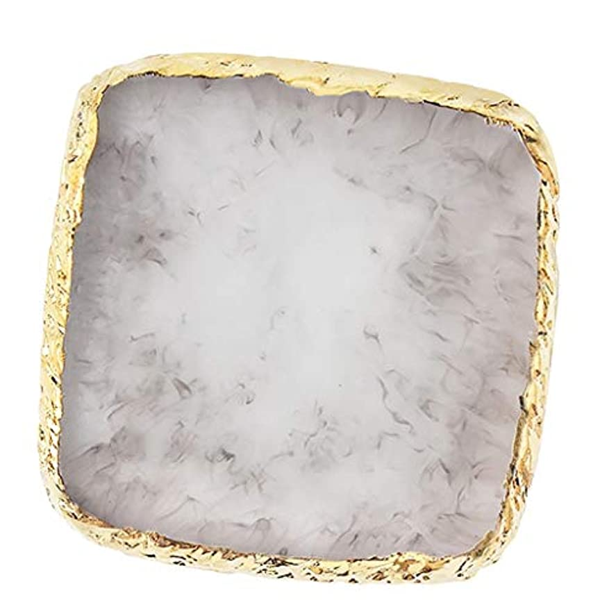 スリラー王女入口IPOTCH ネイルアート カラーブレンド ミキシングパレット 樹脂製 6色選べ - グレー
