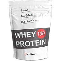 アルプロン ナチュラルホエイプロテイン100 無添加 1kg【約50食】プレーン(WPC ALPRON 国内生産)