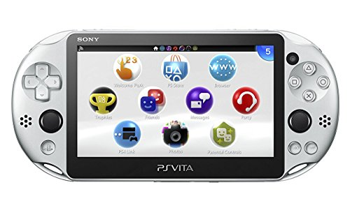 PlayStation Vita Wi-Fiモデル シルバー...