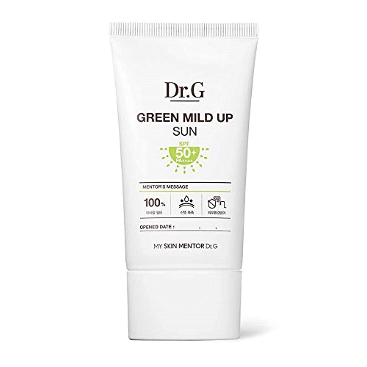 Dr.G Green Mild Up Sun SPF50+/PA++++ 50ml ドクタージー グリーン マイルド アップ サン 日焼け止め
