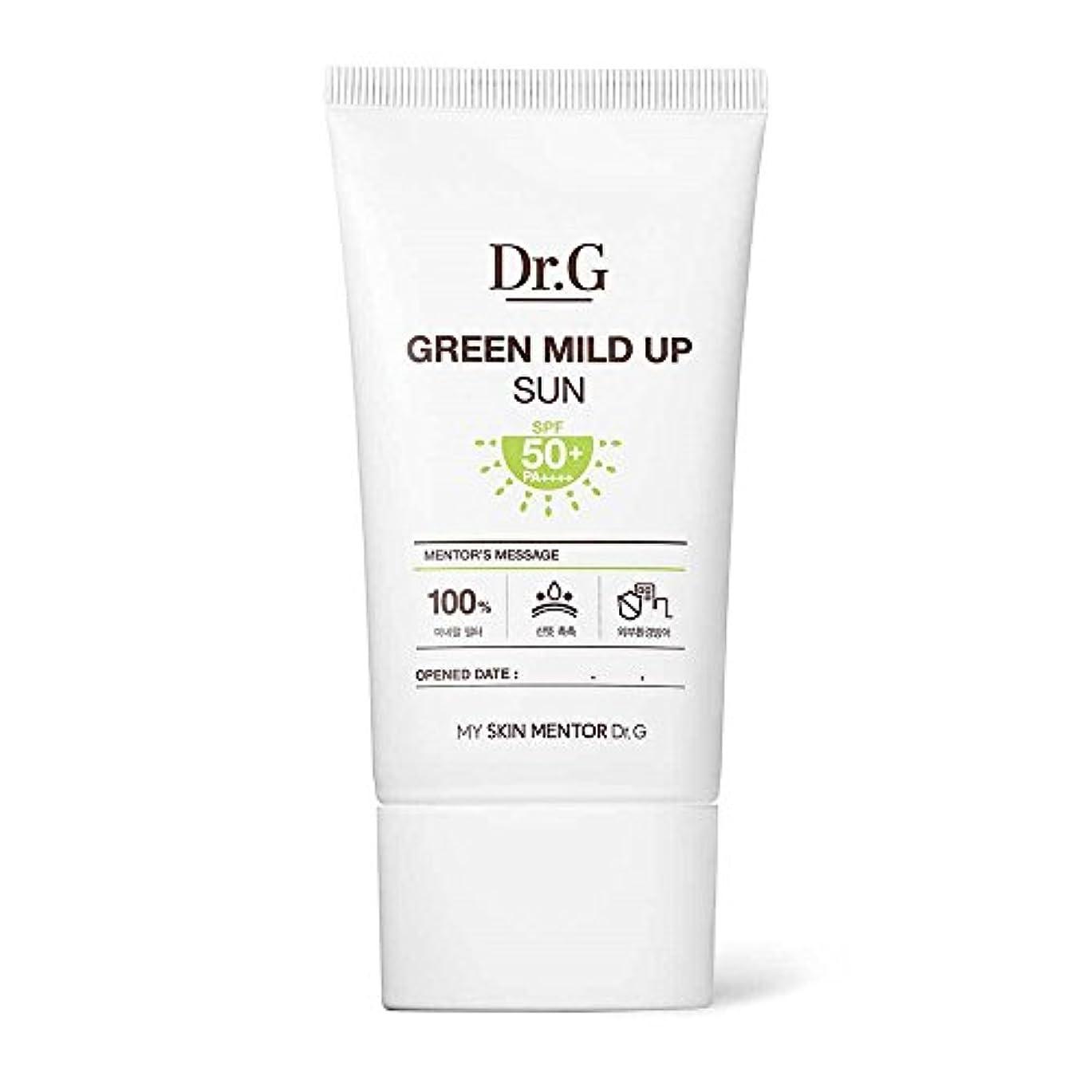 銅繰り返す致命的なDr.G Green Mild Up Sun SPF50+/PA++++ 50ml ドクタージー グリーン マイルド アップ サン 日焼け止め